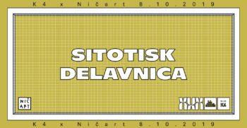 SITOTISK DELAVNICA
